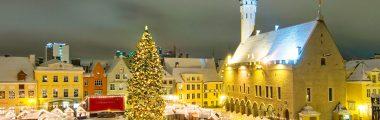 Jouluinen hotellimatka Tallinnaan la-su 23.-24.11.